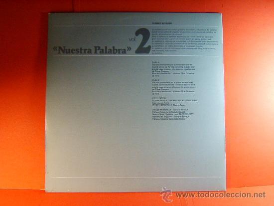 Discos de vinilo: DISCURSO PLAZA DE LA REVOLUCION LA HABANA CUBA-FIDEL CASTRO -MOVIE PLAY GONG- 1977 - 2 DISCOS LP ... - Foto 3 - 38793729