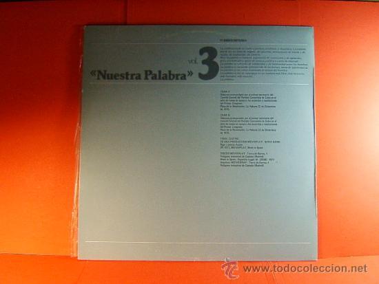 Discos de vinilo: DISCURSO PLAZA DE LA REVOLUCION LA HABANA CUBA-FIDEL CASTRO -MOVIE PLAY GONG- 1977 - 2 DISCOS LP ... - Foto 5 - 38793729