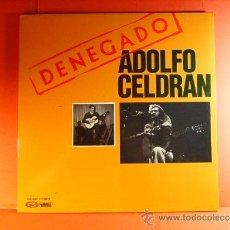 Discos de vinilo: DENEGADO - ADOLFO CELDRAN - MOVIE PLAY GONG - DEL VETO AL VOTO - FOTOS-ANTONIO GOMEZ - 1977 - LP .... Lote 38794032