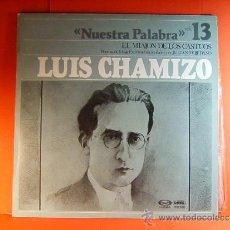 Discos de vinilo: EL MIAJON DE LOS CASTUOS,BAJA EXTREMADURA LUIS CHAMIZO-JULIAN MOJEDANO-MOVIE PLAY GONG-1978 - LP .... Lote 38794460