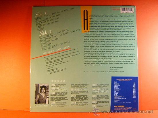 Discos de vinilo: THE LAST SESSIONS - PATSY CLINE - MCA RECORDS DECCA - ORIGINAL CALIFORNIA USA - 1988 - LP ... - Foto 2 - 38794802
