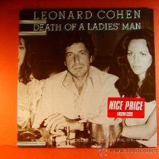 Discos de vinilo: DEATH OF A LADIES' MAN - LEONARD COHEN - CBS - ORIGINAL HOLANDES -WHITNEY LOS ANGELES- 1977 - LP .... Lote 38794965
