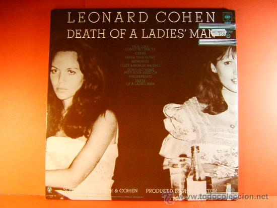 Discos de vinilo: DEATH OF A LADIES MAN - LEONARD COHEN - CBS - ORIGINAL HOLANDES -WHITNEY LOS ANGELES- 1977 - LP ... - Foto 3 - 38794965
