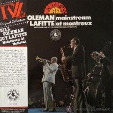 Discos de vinilo: BILL COLEMAN- GUY LAFITTE- MAINSTREAM AT MONTREUX -BLACK LION. Lote 38795159