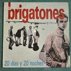 Discos de vinilo: LOS BRIGATONES - 20 DÍAS Y 20 NOCHES (POST BRIGHTON 64). Lote 38795309