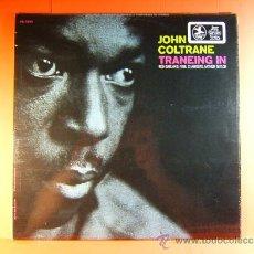 Discos de vinilo: TRANEING IN - JOHN COLTRANE ( 1926/1966 ) - PRESTIGE MUSIDISC EUROPE FRANCE - 1969-1970 ? - LP ... . Lote 38795701