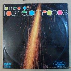 Discos de vinilo: *** LOS RELÁMPAGOS - LO MEJOR DE LOS RELÁMPAGOS - DOBLE LP 1974 (DOBLE PORTADA) - LEER DESCRIPCIÓN. Lote 38798056