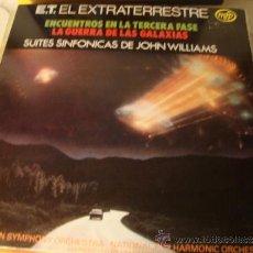 Discos de vinilo: DISCO LP ORIGINAL BANDA SONORA LA GUERRA DE LAS GALAXIAS, ET, ENCUENTROS TERCERA FASE.. Lote 38799710