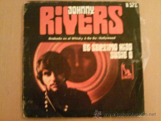 JOHNNY RIVERS SINGLE EL SÉPTIMO HIJO / SUZIE Q (Música - Discos - Singles Vinilo - Pop - Rock - Extranjero de los 70)