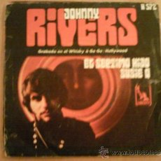 Discos de vinilo: JOHNNY RIVERS SINGLE EL SÉPTIMO HIJO / SUZIE Q. Lote 38801822