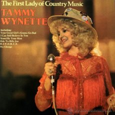Discos de vinilo: TAMMY WYNETTE- THE FIRST LADY OF COUNTRY MUSIC-. Lote 38803380
