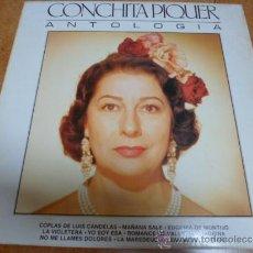 Discos de vinilo: LP VINILO CONCHITA PIQUER ANTOLOGIA. Lote 38808693