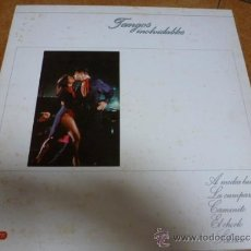 Discos de vinilo: LP VINILO TANGOS INOLVIDABLES. Lote 38808813