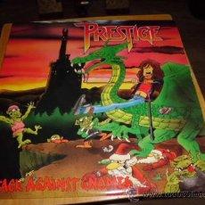 Discos de vinilo: PRESTIGE - ATTACK AGAINST GNOMES RARO Y MUY DIFICIL 1988 TRASH NORDICO GBBS COMO NUEVO. Lote 38810024