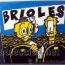 Discos de vinilo: BRIOLES (MACACO RECORDS-1991) ROCKABILLY, PSYCHOBILLY, ROCK & ROLL LP + INSERT. Lote 38811765