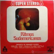 Discos de vinilo: ORQUESTA DE FERNANDO OLIVIERA - RITMOS SUDAMERICANOS - LP TREBOL 1970 BPY . Lote 38863921