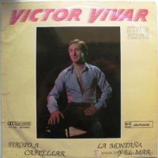 Discos de vinilo: VÍCTOR VIVAR - NUEVOS EXITOS - LP PROMO HI-FI DISCOS 1986 BPY. Lote 38869760