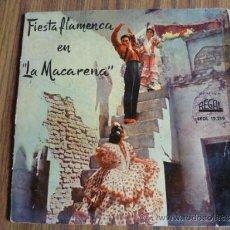 Discos de vinilo: SINGLE VINILO FIESTA FLAMENCA EN LA MACARENA. Lote 38831095