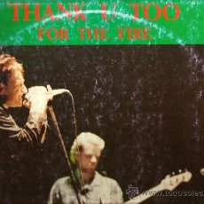 Discos de vinilo: DOBLE LP U2 : THANK U TOO FOR THE FIRE (LIVE IN MILANO & BOLOGNA, 1985 ). Lote 38831848