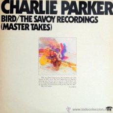 Discos de vinilo: CHARLIE PARKER- BIRD- THE SAVOY RECORDING (MASTER TAKES) DOBLE DISCO. Lote 38832375
