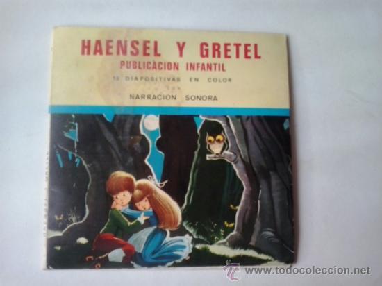 -HAENSEL Y GRETEL PUBLICACION INFANTIL SONORA CON 15 DIAPOSITIVAS -1967 (Música - Discos de Vinilo - Maxi Singles - Música Infantil)