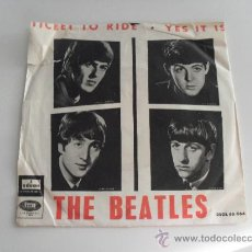 THE BEATLES - TICKET TO RIDE / YES IT IS 1965