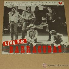 Discos de vinilo: BARRACUDAS EP LIVE IN MADRID. Lote 38839517