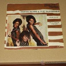 Discos de vinilo: DIANA ROSS & SUPREMES SINGLE LOVE CHILD PROMOCIONAL. Lote 38839556