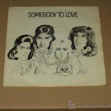 Discos de vinilo: QUEEN SINGLE SOMEBODY TO LOVE. Lote 38839602