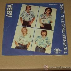 Vinyl records - ABBA SINGLE THE WINNER TAKES IT ALL - 38839632