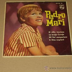Discos de vinilo: PEDRO MARI EP EL NIÑO TRAVIESO+3. Lote 38839801