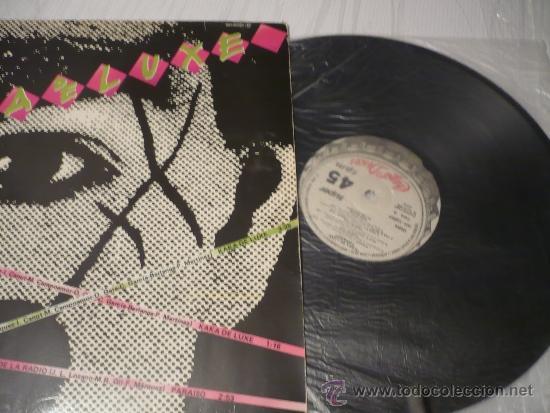 MAXI SINGLE DE KAKA DELUXE Y PARAISO (Música - Discos de Vinilo - Maxi Singles - Grupos Españoles de los 70 y 80)