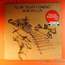 Disques de vinyle: SLOW TRAIN COMING - BOB DYLAN - USA - EEUU - CBS - EN DISCO 1979 Y 1984 - EN FUNDA 1979 - LP ... . Lote 38848733