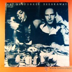 Discos de vinilo: BREAKAWAY - ART GARFUNKEL - USA EEUU - CBS MADE IN ENGLAND - PRODUCED PAUL SIMON - 1975 - LP ... . Lote 38853539