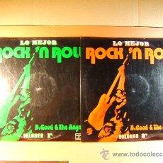 Discos de vinilo: B. GOOD & THE ANGELS - LO MEJOR ROCK'N ROLL - PALOBAL IBEROFON - VOL.1 Y 2 - 1973 - DOS LP .... Lote 38855806
