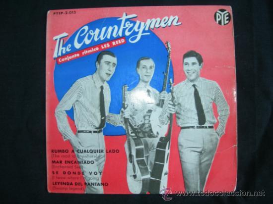 EP THE COUNTRYMEN // RUMBO A CUALQUIER LADO + 3 (Música - Discos de Vinilo - EPs - Pop - Rock Internacional de los 50 y 60)