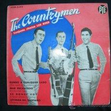 Discos de vinilo: EP THE COUNTRYMEN // RUMBO A CUALQUIER LADO + 3. Lote 38866285