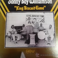 Discos de vinilo: SONNY BOY WILLIAMSON KING BISCUIT TIME. Lote 38869300