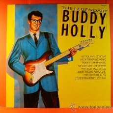 Discos de vinilo: THE LEGENDARY BUDDY HOLLY -PICKWICK HALLMARK LONDON PRINTED IN ENGLAND GREAT BRITAIN - 1987 - LP .... Lote 38871123