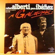 Discos de vinilo: A GALOPAR-PACO IBAÑEZ-RAFAEL ALBERTI- PDI DISCOPLAY TROVADORES, JUGLARES-1992-COMPLETO DOS LP ... . Lote 38871903