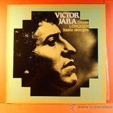 Discos de vinilo: DESDE LONQUEN HASTA SIEMPRE - VICTOR JARA - CHILE - VIUDA JOAN -SOLAR MOVIEPLAY GONG - 1980 - LP .... Lote 38873834