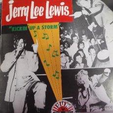 Discos de vinilo: JERRY LEE LEWIS KICKIN , UP A STORM. Lote 38876416