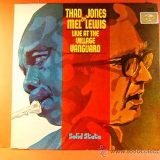Discos de vinilo: LIVE AT THE VILLAGE VANGUARD - THAD JONES MEL LEWIS ORCHESTRA-EDICION ALEMANIA MUNICH- 1967 - LP .... Lote 38876535