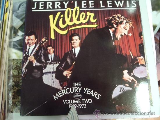 Discos de vinilo: JERRY LEE LEWIS KILLER 1969 , 1972 DOBLE - Foto 1 - 38876587