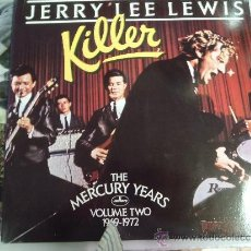 Discos de vinilo: JERRY LEE LEWIS KILLER 1969 , 1972 DOBLE. Lote 38876587