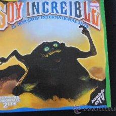 Discos de vinilo: SOY INCLEIBLE. POLYSTAR 1985. DOBLE LP.. Lote 38876588