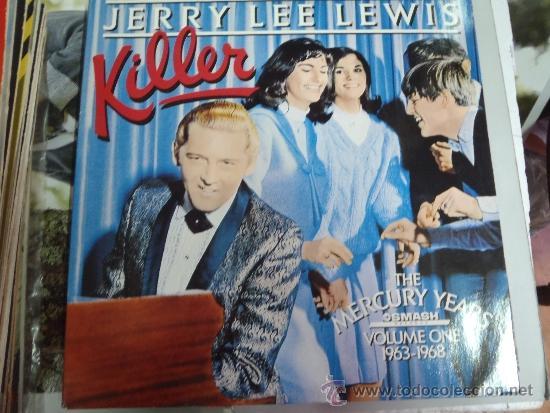 JERRY LEE LEWIS KILLER 1963 , 1968 DOBLE (Música - Discos - LP Vinilo - Otros estilos)