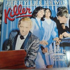Discos de vinilo: JERRY LEE LEWIS KILLER 1963 , 1968 DOBLE. Lote 38876625