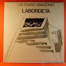Discos de vinilo: LAS CUATRO ESTACIONES - JOSE ANTONIO LABORDETA - MOVIE PLAY - LETRAS CANCIONES - 1981 - LP .... Lote 38882026