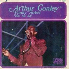 Discos de vinilo: ARTHUR CONLEY, SG FUNKY STREET + 1, AÑO 1968. Lote 38882500